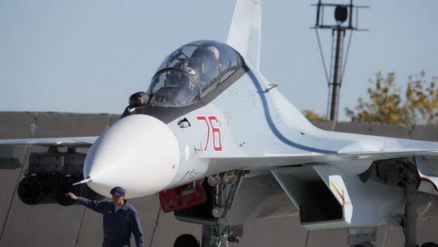 Россия перебазировала истребители Су-30СМ в Беларусь
