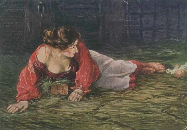 Крепостная актриса в опале