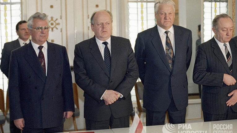 Для СССР такой час настал 8 декабря 1991 г.
