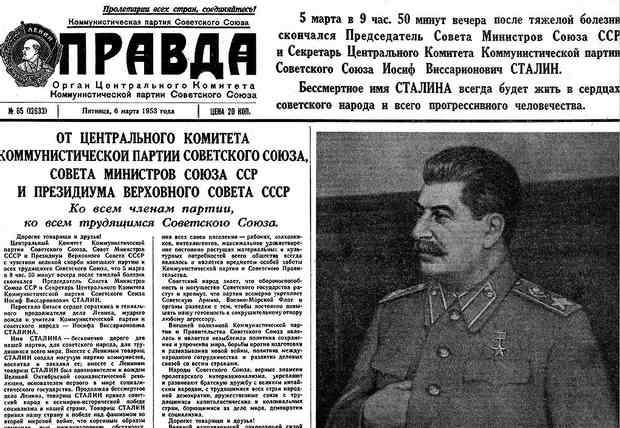Покушения на Сталина. Смерть вождя.