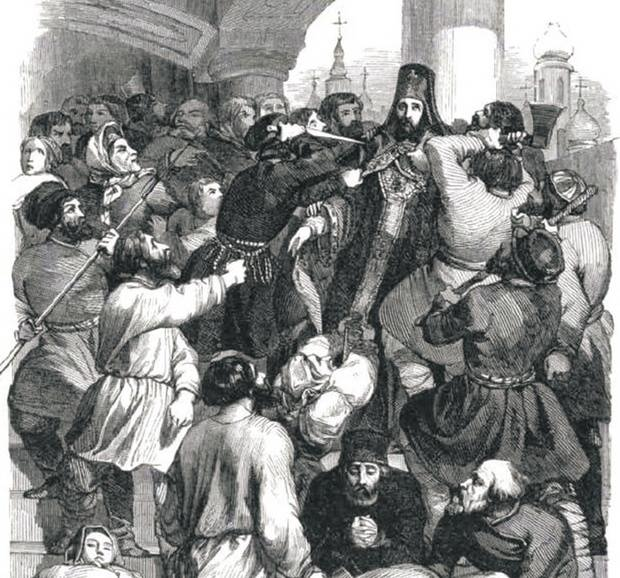 Убийство архиепископа Амвросия