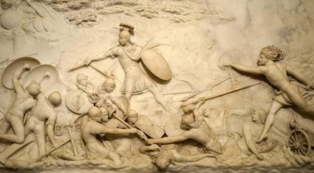Рабов добывали в битвах.