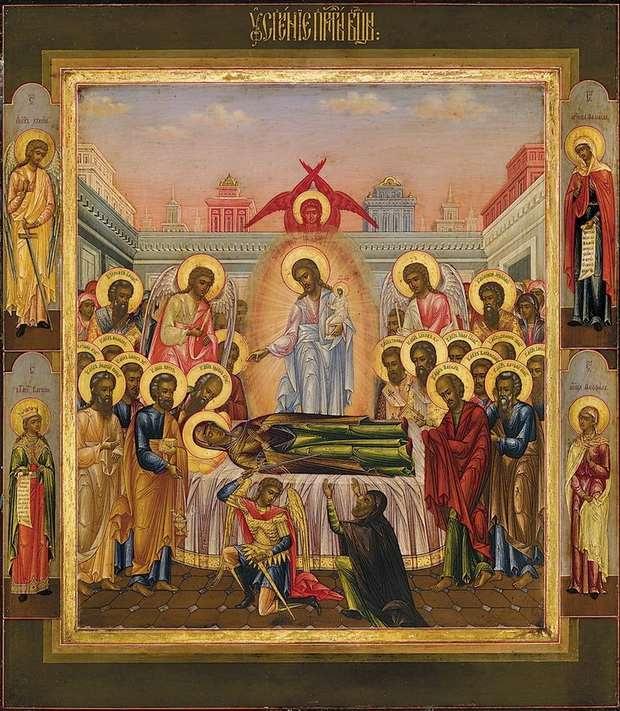 В Церкви мы всегда со всеми святыми и с Божией Материю «честнейшей херувим».