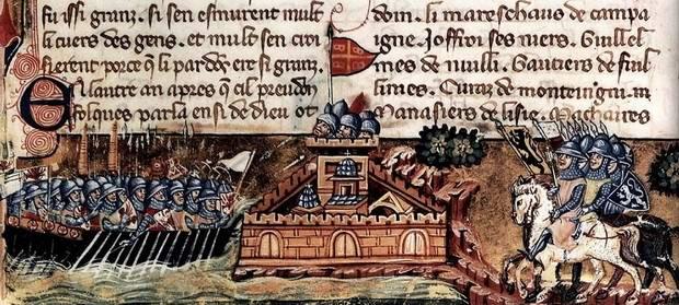 Прибытие крестоносцев к Константинополю в 1203 г.