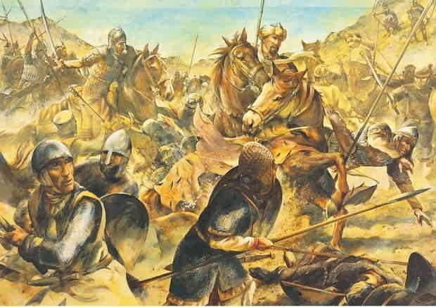 После обретения путем брака короны сицилийско-норманнского королевства германский император Генрих VI наследовал претензии нормандцев к Византии.