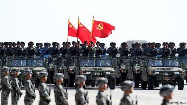 Китай нарастит военные расходы в 2018 году