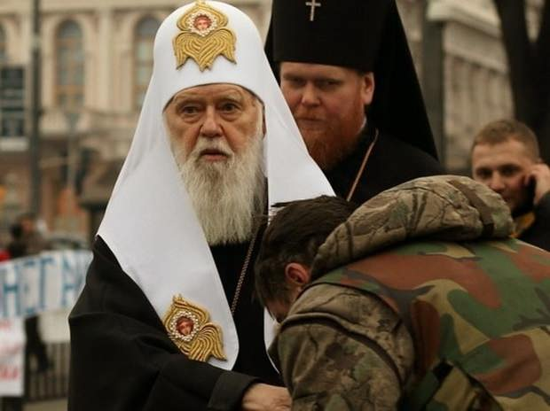 Филарет объявил себя патриархом всея Руси