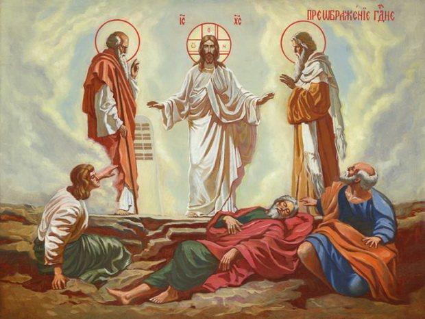 Во времена земной жизни Христа Спасителя это была пустынная, заросшая кустарником и низкорослыми деревьями гора. На ее вершину Господь поднялся вместе с тремя Апостолами.