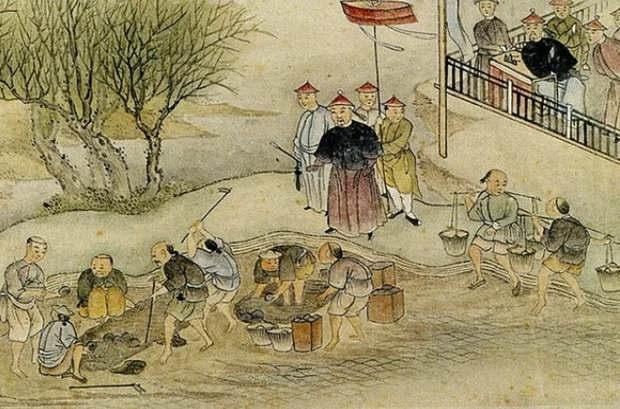 Линь Цзэсюй и уничтожение опиума, 1839 г. // wikipedia.org