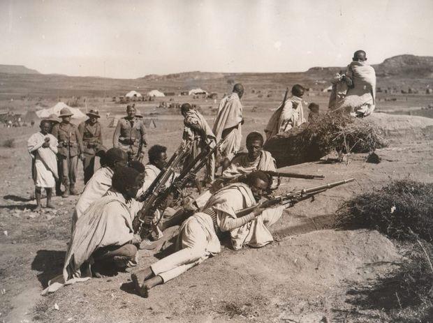 В то время как Киренаика известна как место геноцида, совершенного Италией, в Эфиопии