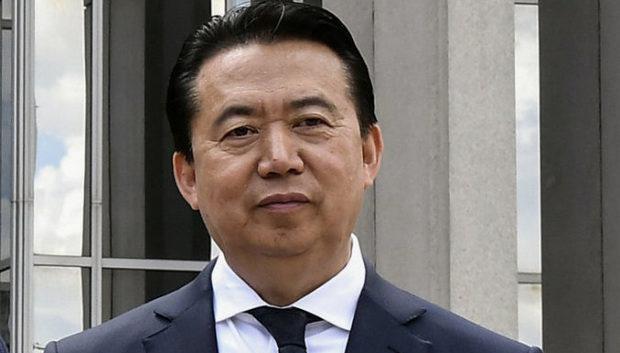 В КНР официально объявили об аресте бывшего главы Интерпола