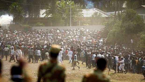 Эфиопия: в спровоцированной полицией давке на фестивале, погибли десятки человек