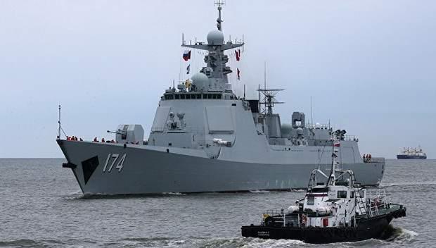 """ВМФ России и ВМС Китая задействуют на учениях """"Морское взаимодействие – 2017"""" 11 надводных кораблей и 2 подлодки"""