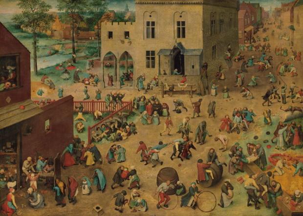 Питер Брейгель Старший. «Игры детей». Источник: Wikimedia Commons