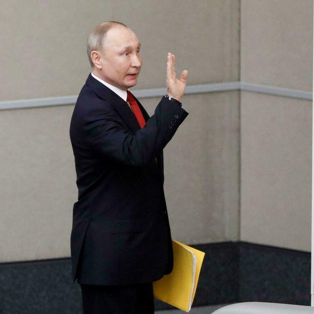 Самоизолировавшийся Путин