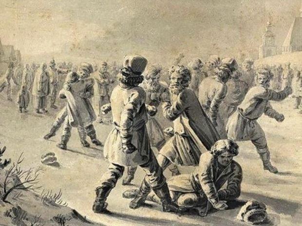 Наши предки очень любили повеселиться, поэтому без народных гуляний и забав не обходился ни один праздник.