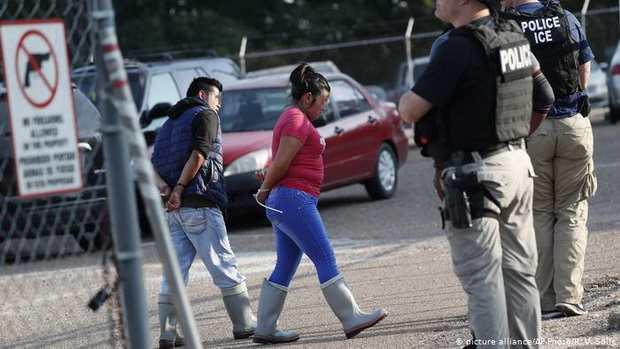 Иммиграционная служба США задержала почти 700 нелегальных мигрантов