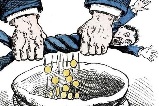 Зарплаты в России растут в два раза медленнее, чем налоги