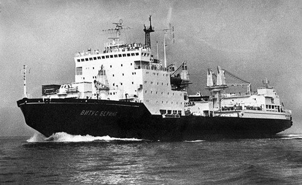 судно-снабженец усиленного ледового класса «Витус Беринг»