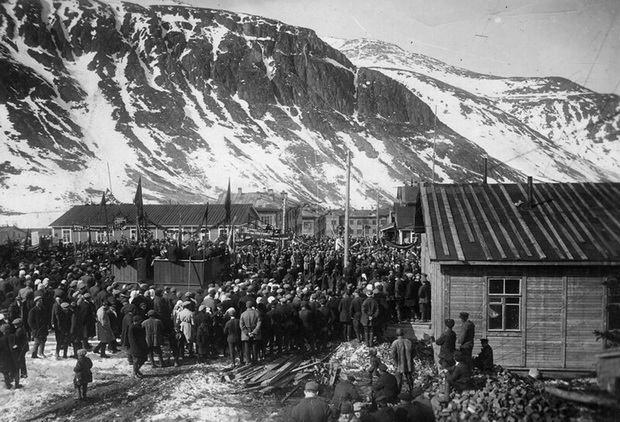 Спецпоселение в Хибинах - Архивное фото