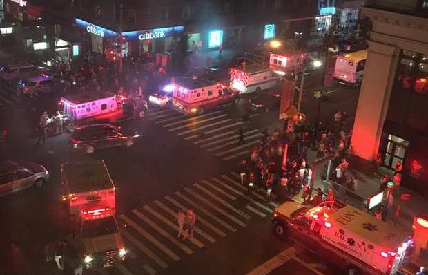 Взрывное устройство сработало в центре Нью-Йорка