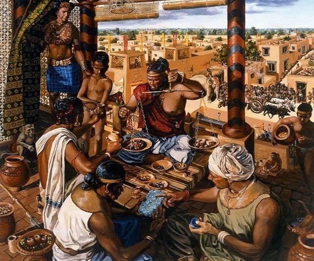 Торговля в древней Индии