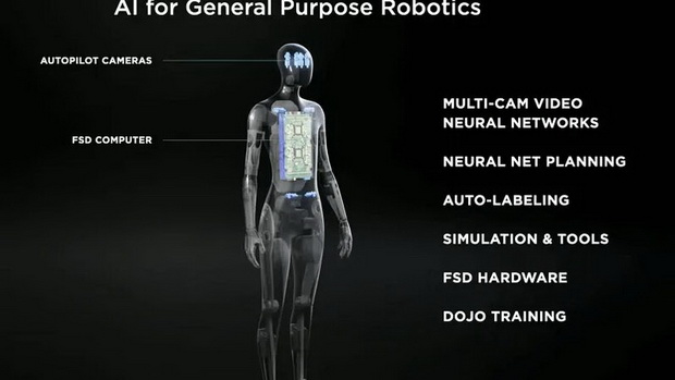 Tesla занялась разработкой робота-гуманоида