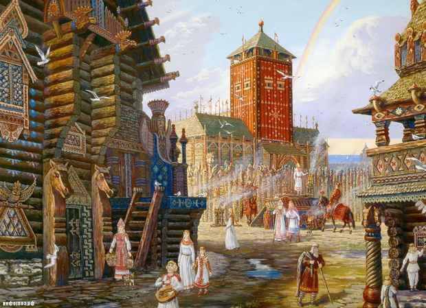 Докрещенский период истории Руси был большой головной болью советских историков и идеологов, о нём проще было забыть и не упоминать.