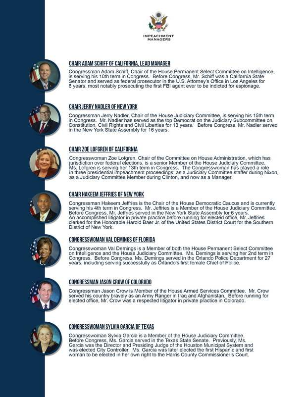 Названы кандидатуры обвинителей