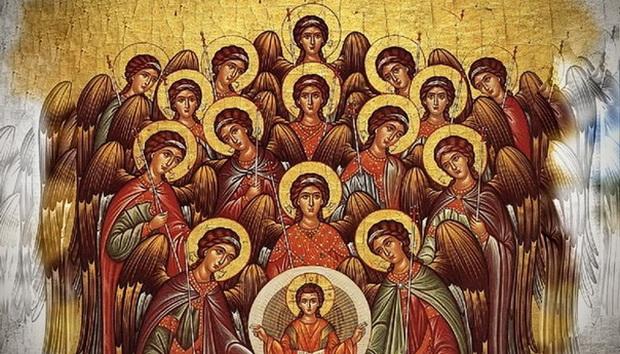 Первое, что, скорее всего, придет и нам на ум это мысль о том, что ангелы сотворены прежде мира материального.