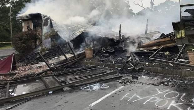 В Миссисипи сожгли церковь, в которой проводились службы во время пандемии