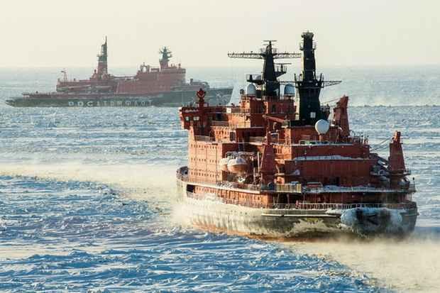 США строят ледоколы для противостояния России и Китаю в Арктике