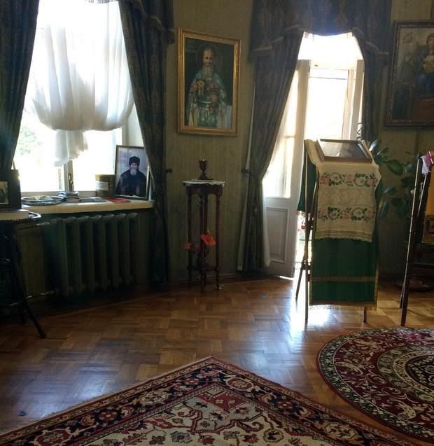 Музей-квартиру освятил Патриарх