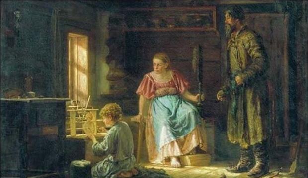 Третий период детства назывался «юность», и подростки уже становились полноценными помощниками родителям.