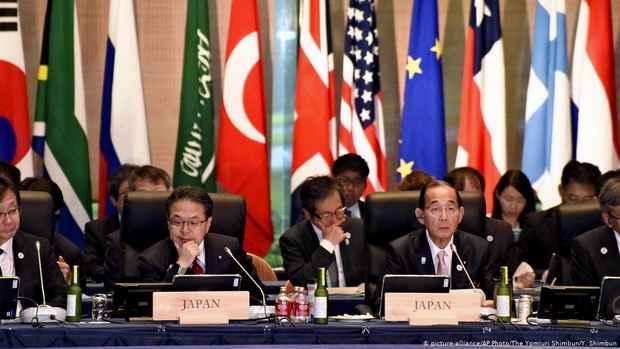 На встрече G20 договорились о борьбе с пластиком в океанах