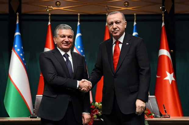 Узбекистан тоже стал усиливать дружбу с турками.