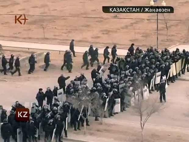 Массовые беспорядки в Казахстане