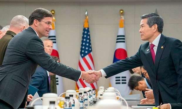 США и Южная Корея отложили военные учения