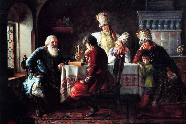 В шахматы любили играть все, даже сам Император