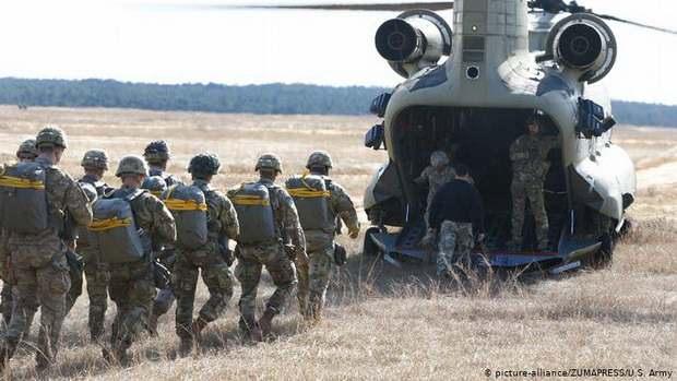 США отправляют на Ближний Восток более 700 солдат