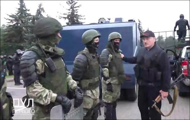 Военный «спектакль» Лукашенко
