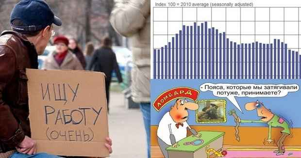 Доходы россиян опустились до уровня 2009 года и продолжают падать
