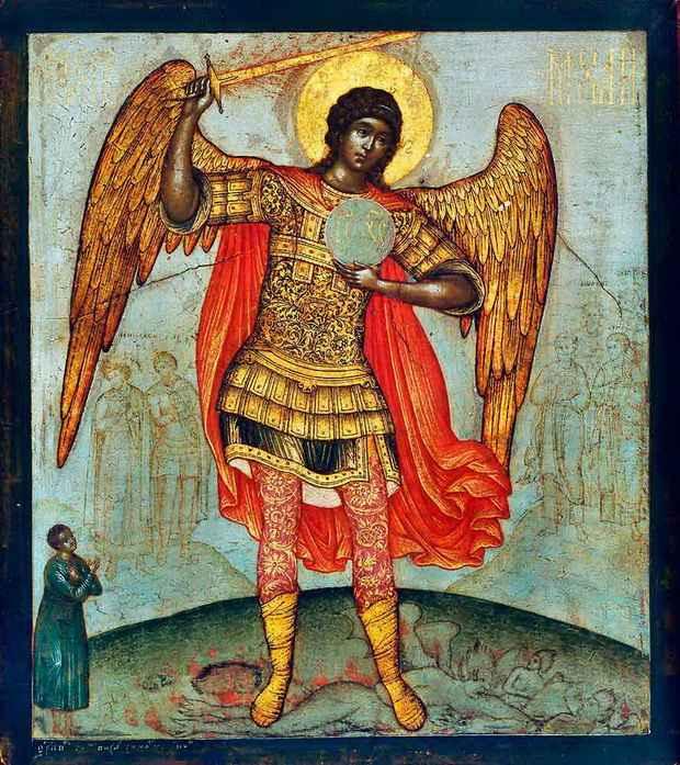 Церковное Предание традиционно связывает этого «человека» с архистратигом Михаилом, и не просто так.