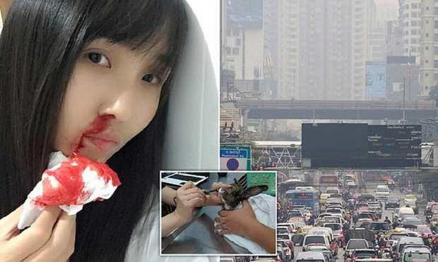 Из-за смога жители Бангкока кашляют кровью