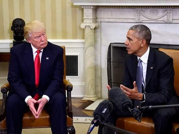 Обама посоветовал Трампу продолжить его курс по противостоянию России