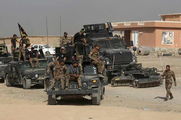 Военные Ирака начали наземную стадию операции по освобождению Мосула о ИГ