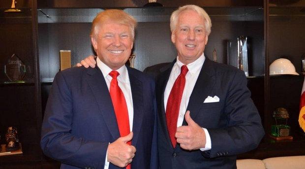 """Трамп, в свою очередь, говорил, что Роберт переживает """"тяжелые времена"""", однако он надеется на его выздоровление."""