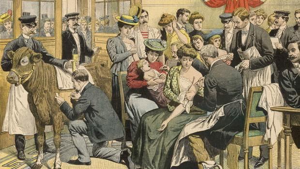 В Европе оспа, начиная с VI века, ежегодно убивала десятки и сотни тысяч людей. Порой от этой болезни становились безлюдными целые города.