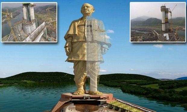 Статуя Пателя была возведена и торжественно открыта в октябре 2018 года, и на сегодняшний день считается высочайшей статуей мира.