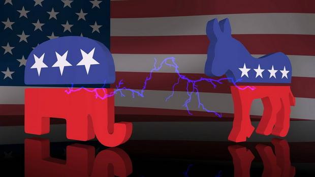Споры демократов и республиканцев